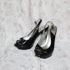 Martinez Valero cute black heels